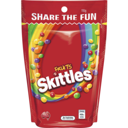 Photo of Skittles Fruits Share Bag 110gm