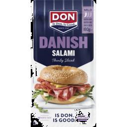 Photo of Don® Salami Danish Mild Thinly Sliced 180g