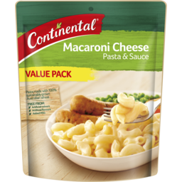 Photo of Continental Pasta & Sauce Macaroni Cheese Value Pack 170g 170g