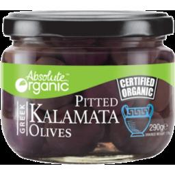Photo of Absolute Organic Pitted Kalamata Olives 300g