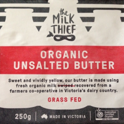 Photo of Milk Thief Organic Unsalted Butter