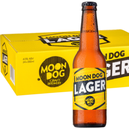 Photo of Moon Dog Lager Bottles