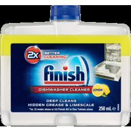 Photo of Finish Dishwasher Cleaner Lemon Sparkle 250ml