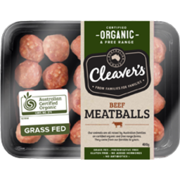 Photo of Cleavers Organic Mini Meatball Beef
