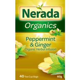 Photo of Nerada Peppermint & Ginger Tea 40pk