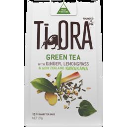 Photo of Ti Ora Green Tea Ginger/Lemon 27gm