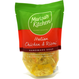 Photo of Marisa's Kitchen Italian Chicken Risoni Soup 500ml