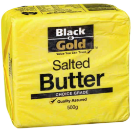 Photo of Black & Gold Butter 500g