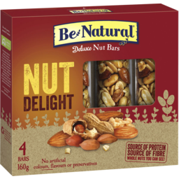 Photo of Be Natural Protein Nut Delight 4 Bars 160g 160g