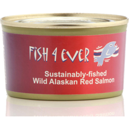 Photo of Fish 4 Ever Red Salmon 213g