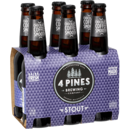 Photo of 4 Pines Brew Stout 6*330ml
