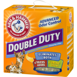 Photo of Arm & Hammer Double Duty Advanced Odor Control Clumping Litter