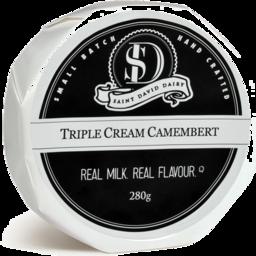Photo of St David Dairy Triple Cream Camembert 280g