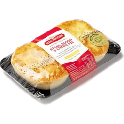 Photo of Steak/Cheese Bacon Pies 2pk Baked Provisions