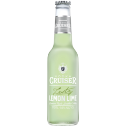 Photo of Vodka Cruiser Zesty Lemon Lime Bitters Bottles