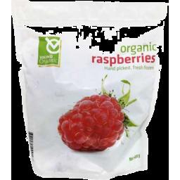 Photo of Viking Organic Frozen Raspberries