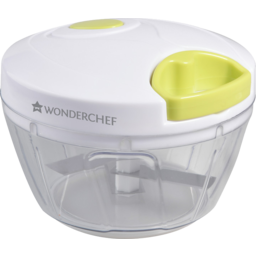 Photo of Wonderchef Classic String Plastic Chopper White and Green