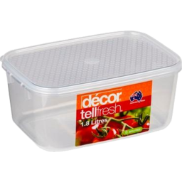 Photo of Decor Container Oblong 1.8l