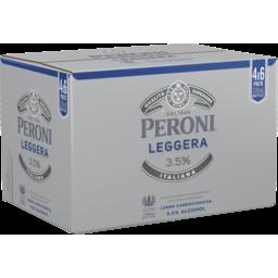 Photo of Peroni Leggera 3.5% Bottle 330ml 24 Pack