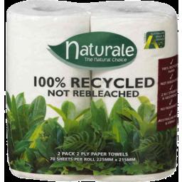 Photo of Naturale 100 Rec P/Towel 2pk