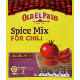 Photo of Old El Paso Spice Mix Chilli 35g
