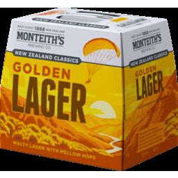 Photo of Monteiths Classics Beer Golden Lager Bottles 12 x 330ml