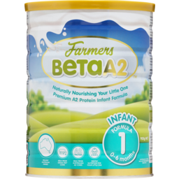 Photo of Farmers Beta A2 Infant Formula Stage 1 0-6 Months 900g