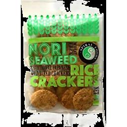 Photo of Spiral Foods Rice Crackers - Nori Seaweed