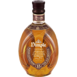 Photo of Dimple 15 Years Old Blended Scotch Whisky 700ml