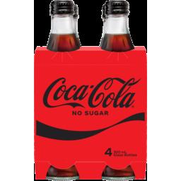 Photo of Coca Cola No Sugar 300ml 4pk
