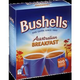 Photo of Bushells Australian Breakfast 100 Tea Bags 200g