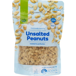 Photo of WW Unsalted Peanuts 200g