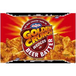 Photo of Birds Eye Golden Crunch Beer Batter Wedges 750g