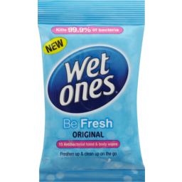 Photo of Wet Ones Be Fresh 15 Pack