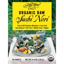 Photo of Gold Mine Sushi Nori Sheets 10pk