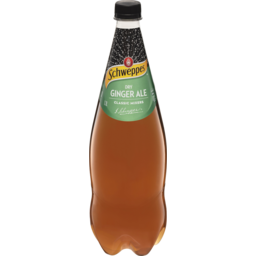 Photo of Schweppes Classic Mixers Dry Ginger Ale 1.1l