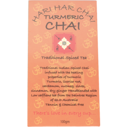 Photo of Hari Hari Chai - Turmeric Chai - 100g