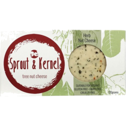 Photo of Sprout & Kernel Tree Nut And Herb Cheese 120gm