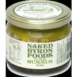 Photo of Naked Byron Foods  Dip - Hummus - Za'atar