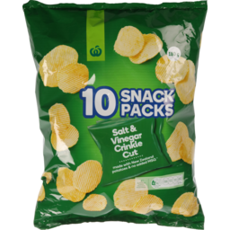 Photo of WW Crinkle Cut Salt & Vinegar Chip 10 Pack