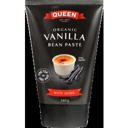 Photo of Queen Organic Vanilla Bean Paste 140gm 140g