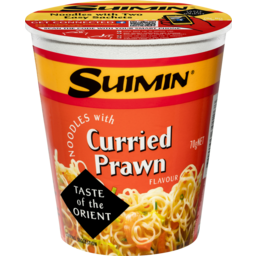 Photo of Suimin Cup Noodles Curried Prawn 70gm