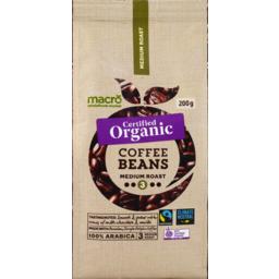 Photo of Macro Organic Fair Trade Medium Beans 200g