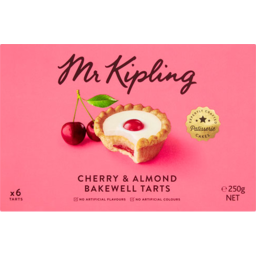 Photo of Mr Kipling Cherry Bakewells 6 Pack