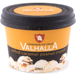Photo of Valhalla Mini Ice Cream Peanut Crunch 120ml