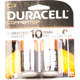 Photo of Duracell Coppertop C Alkaline Battery - 2 Ct