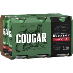 Photo of Cougar Bourbon & Cola Cans