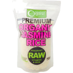 Photo of Absolute Organics Jasmine Rice 700g