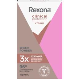 Photo of Rexona Clinical Protection Antiperspirant Sheer Powder 45.000 Ml
