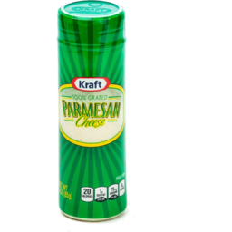 Photo of Kraft Parmesan Cheese 100% Grated